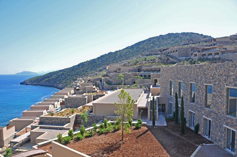 Gran melia crete resort luxury villas daios cove for Design hotel crete
